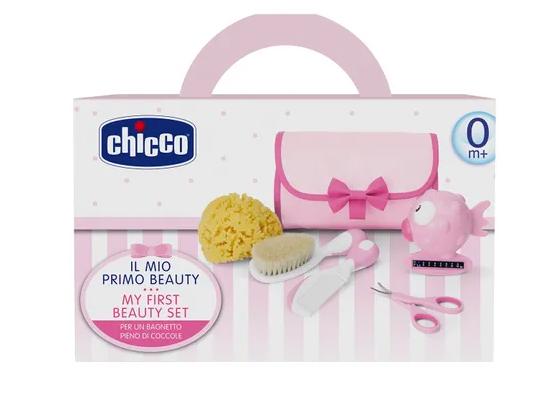 Kit de higiêne para bebês rosa - Chicco