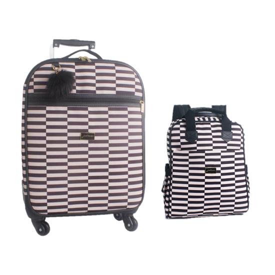 Kit mala de maternidade com rodinha e bolsa mochila Vivara - Just baby