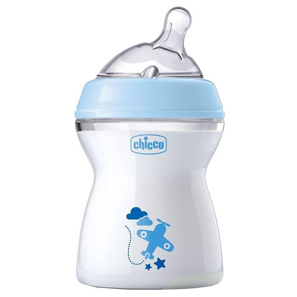 Mamadeira Azul Anti-refluxo Step Up 250Ml - Chicco