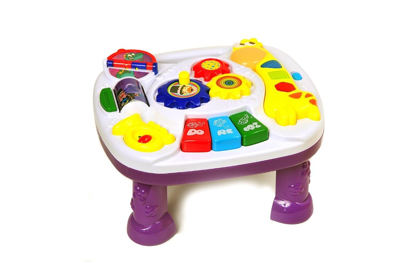 Mesa de aprendizagem do bebê - Mundo bita