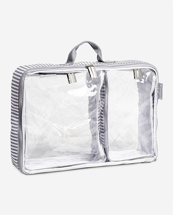 Organizador de mala de bebê Bubble cinza - Masterbag Baby
