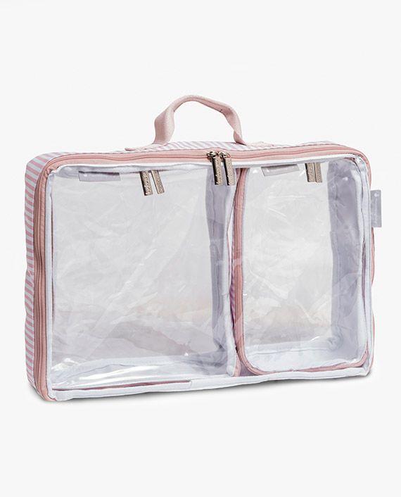 Organizador de mala de bebê Bubble Rosa - Masterbag Baby