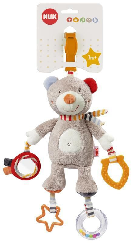 Pelúcia Móbile de Atividades com mordedor - Teddy - NUK
