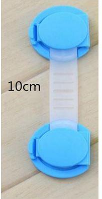 Protetor de portas e gavetas lote com 3 pcs Azul 10 cm