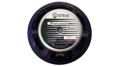 Alto Falante Woofer 12 Pol 400w Rms 8ohm Keybass K12169st3