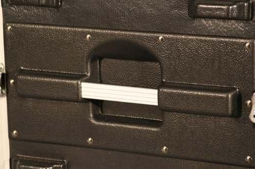 Case para 6 Unidades Padrão rack 19 polegadas | Barra frente e verso | Gator | GR6L
