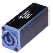 Conector emenda para PowerCON NAC3FCA/ NAC3FCB   Neutrik   NAC3MM