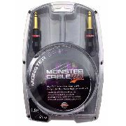 Cabo - Contrabaixo P10 45cm Monster Cable MBASS15