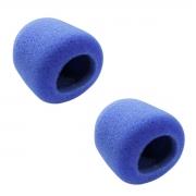 2 Espumas Azul para microfone de mão CSR GM515