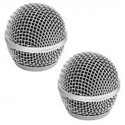 2 Globo para microfone de mão Padrao SM58 CSR GBSM58