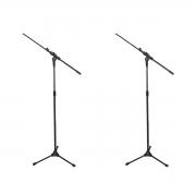 2 Pedestais Girafa Telescópio para Microfone RMV PSU0135