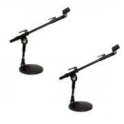 2 Suporte de mesa para microfone + cachimbo Vector SM20P