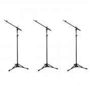 3 Pedestais Girafa Telescópio Para Microfone Rmv PSU0090