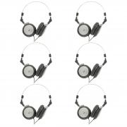 6 Fones para monitor On-ear closed back AKG K414P