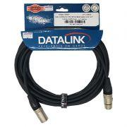 CABO DATALINK P/ MICROFONE BALANCEADO XLR(M)-XLR(F) 5M GB003-PERSONAL