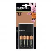 Carregador de pilhas com  4 pilhas AA DURACELL CEF14BR4