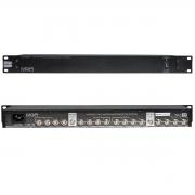 Distribuidor de RF para 8 Receptores e Antenas MGA US8