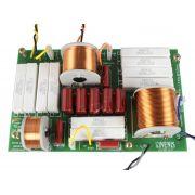 Divisor de Frequência 3 vias Passivo | 1 ou 2 Alto-falantes de grave, 1 Alto-falante de médio e Driver Titanium de até 950W RMS | DF953TI | Nenis