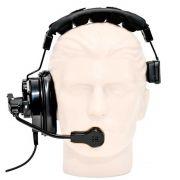 Fone Headset com microfone cardioide para sistema de intercom | MGA Pro Audio | HS-2