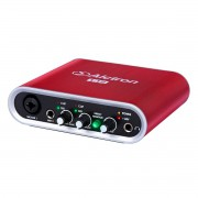 Interface USB 2 canais 24bit 48 Khz PC MAC Alctron U12 V