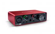 Interface USB p/ 1 mic + 1 inst Focusrite Scarlett Solo 3G