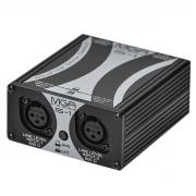 Isolador com 2 canais para Áudio MGA Pro Audio IS1