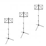 Kit com 3 Estantes de Partitura Dobrável RMV PES0090