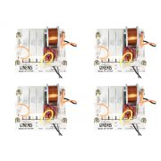 Kit com 4 divisores de 150 Watts RMS para 1 Driver Titanium 8 ohms | Nenis | DF151TI