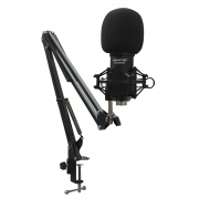 Kit Microfone de Gravação + Suporte SKYPIX SK-BM800