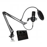Kit Microfone, Interface e Suporte SKYPIX SK-BM800V8