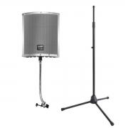 Kit Pedestal + Filtro Difusor para Audio RF20PRO MS7700