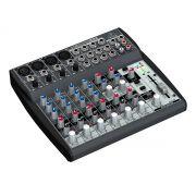 Mesa analógica 8 canais | 4 pré-amplificadores XLR + 4 canais estéreo | Behringer | XENYX 1202