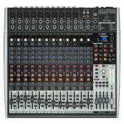 Mesa de som analógica com 16 canais de entrada, 4 AUX e saída USB | Behringer | XENYX X2442USB