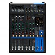 Mesa de som com 10 canais, Saída USB e FX Yamaha MG10XUF