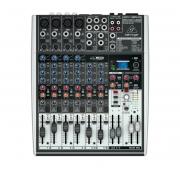 Mesa de Som de 8 canais, 48v, FX e USB BEHRINGER X1204USB