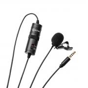 Microfone de lapela Omni-direcional Boya BY-M1