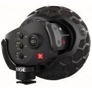 Microfone estéreo condensador de configuração XY para broadcast | Rode | Stereo VideoMic X
