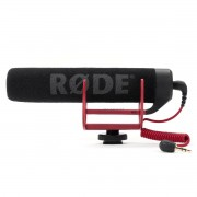 Microfone Shotgun 16cm p/ Câmera RODE Video Mic Go