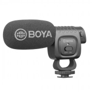 Microfone Shotgun compacto para Câmera BOYA BY-BM3011