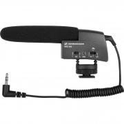 Microfone Shotgun MKE 400 Preto SENNHEISER