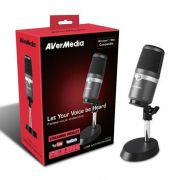 Microfone USB p/ PC, Live, Stream, PodCast AverMedia AM310