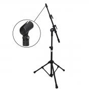 Mini Pedestal Girafa para Microfone VECTOR PMV01PJR