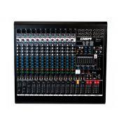 Mixer analógico com 12 canais XLR e 4 auxiliares | FX, USB e Bluetooth | DBR | DM12USB