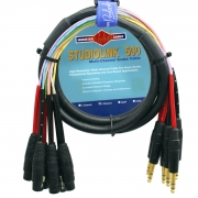 Multicabo P10 TRS X XLR/F Monster Cable SL500-S8-CFX-4