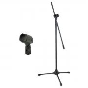 Pedestal Girafa Para Microfone + Cachimbo RMV STD143