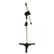Pedestal mini girafa cromado e pé de ferro Visão PE-3MF