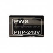 Phantom Power 48v para 2 Microfones PWS PHP–248V