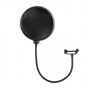 Pop Filter com haste flexível de 34 cm KONECT PF100
