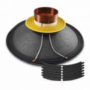 Reparo para Alta Falante de 15 polegadas 15/300 STEEL em 8 ohms | Oversound | R-15/300-STEEL