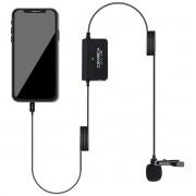 Microfone lapela p/ Apple Lightning Comica SIGLAVV05MI